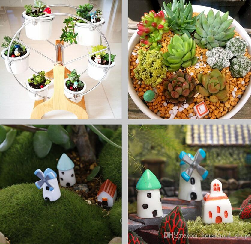 Online Cheap Artificial Fairy Garden Miniatures Mini