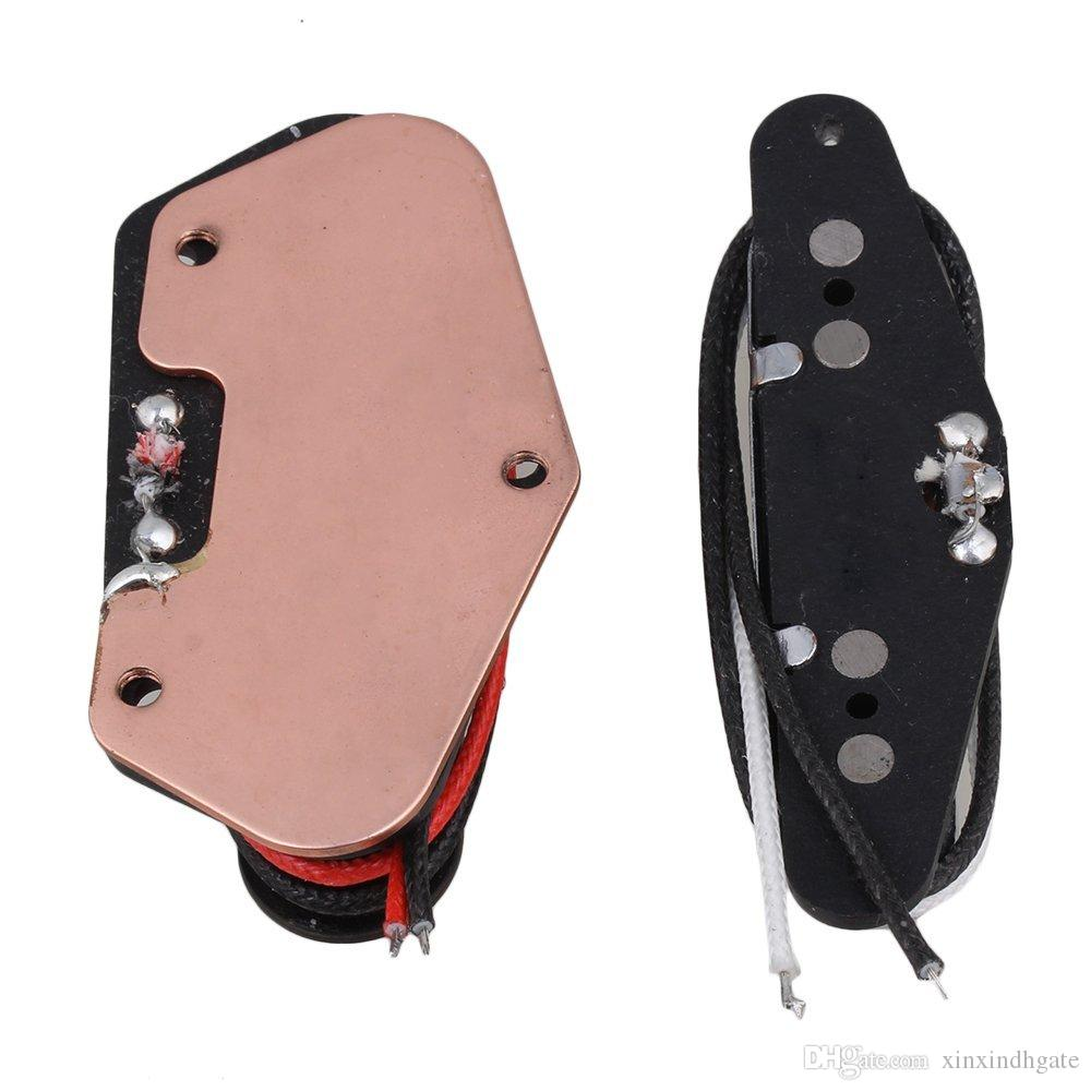 E-Gitarren Tonabnehmer Bridge Neck Pickup Alnico 5 Magnet für Tele Style