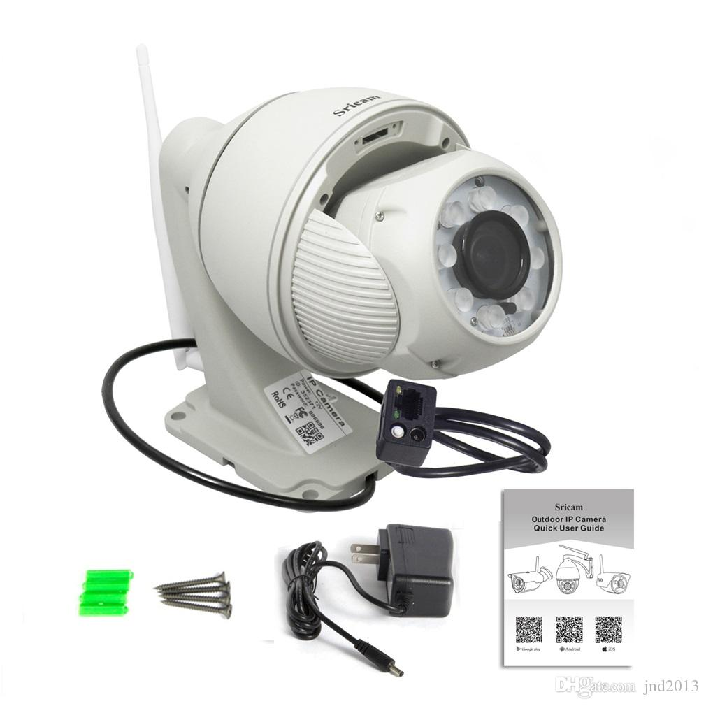 SP008 Onvif WiFi IP Dome Security Network Wireless IP Camera HD 2.8-12mm 5x Optical Zoom
