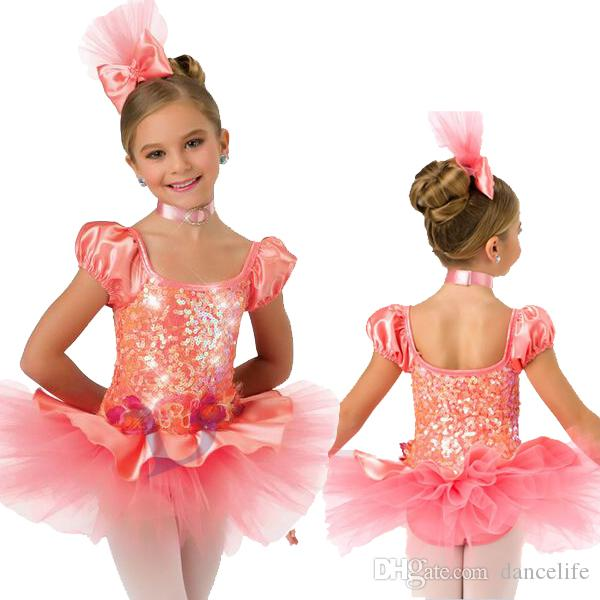 705c60aa95b5 2019 NP037 Pink Fairy Dance Costumes Wholesale Romantic Ballet Tutu ...