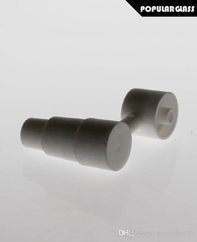 SAML Side arm Ceramic Nails bong ceramic domeless smoking pipe ceramic bowl joint size 18.8/14.4mm PG5061