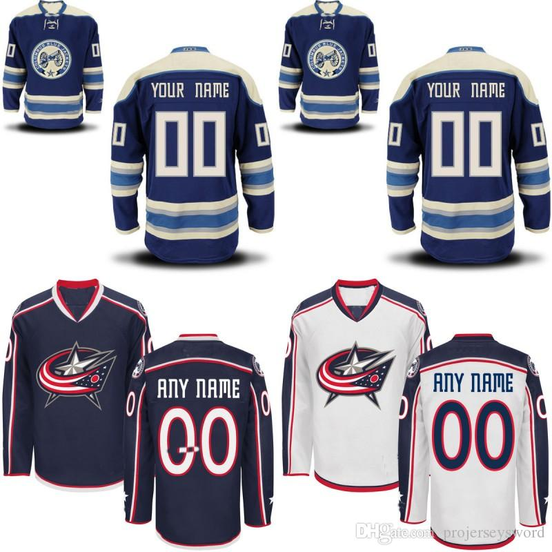 2019 Columbus Blue Jackets Jersey S To 5XL Personalized Customized Jerseys  With Any Name And Any Number 100% Stitched Embroidery Logos Jerseys From ... a7657ee1b
