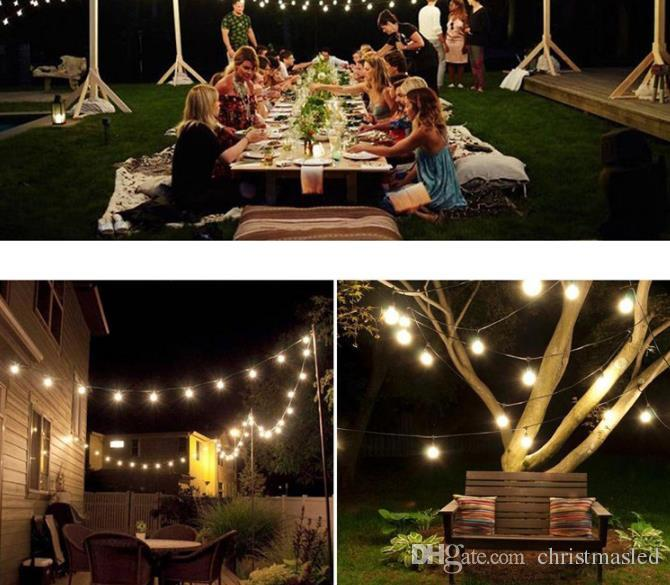 7.5m 30 LED 8 modes Bubble Ball Solar String Light Waterproof Christmas Celebration Decoration Mixed Color 0.2 Power String Lights holiday