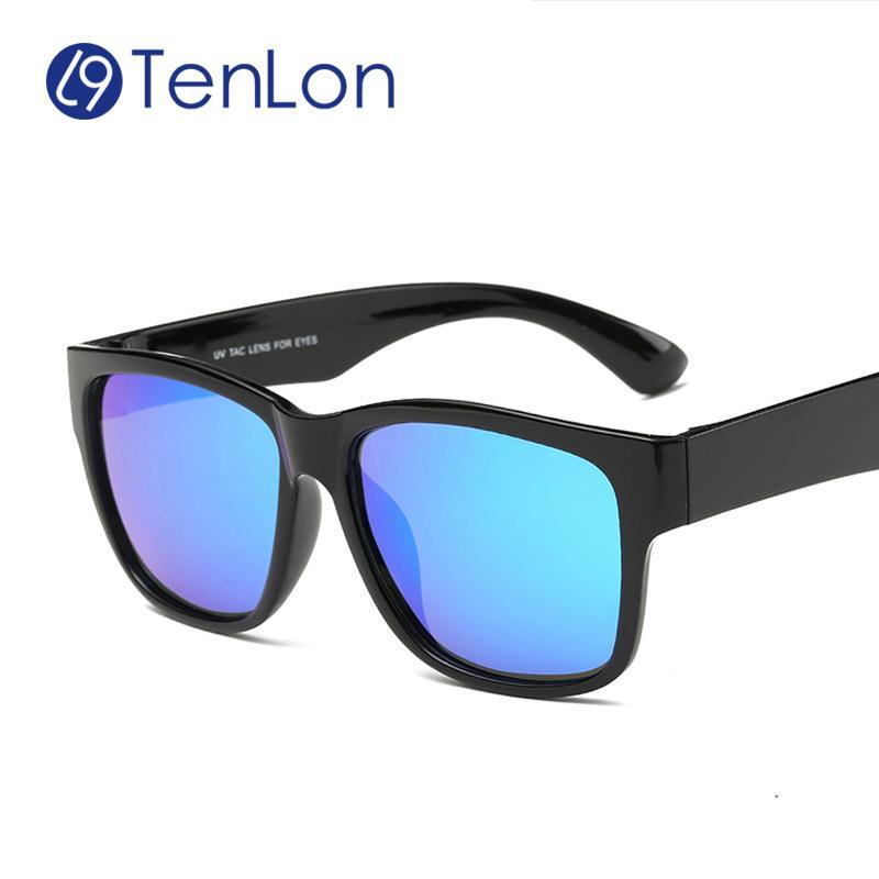 c8971a5f9af12 Wholesale- TenLon Glasses Super Light TR90 Classical Polarized Colorful Eyeglasses  Men Sunglasses Women Sun Glasses Oculos De Sol Masculino Oculos De Sol ...