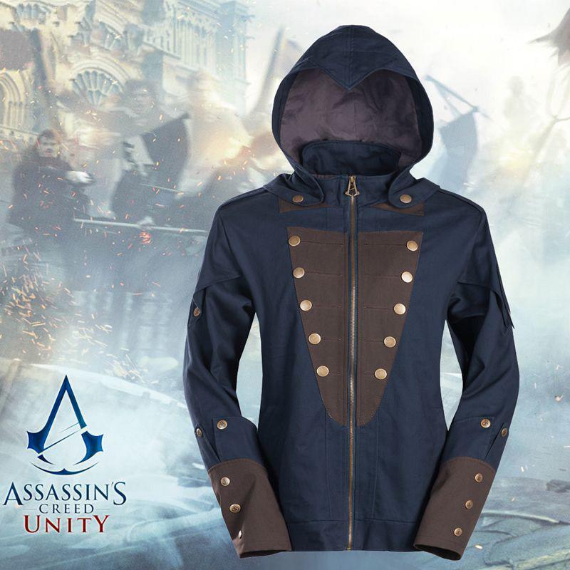 01227b614869 Acheter Vente En Gros Assassin  s Creed Unity Arno Veste À Capuche Victor  Dorian Hommes Manteau D hiver Sweat Costume Cosplay Game Hoodie Pour Homme  De ...