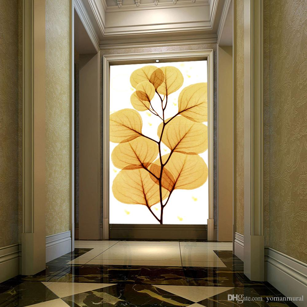 Acheter Gros Photo 3d Papier Peint Décor à La Maison Entrée Couloir