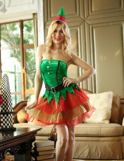 see larger image - Christmas Tree Costume