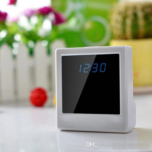WIFI Clock Camera P2P Onvif HD 720P Table Clock Mini IP camera Baby Monitor motion Detection wireless surveillance home security Nanny Cam