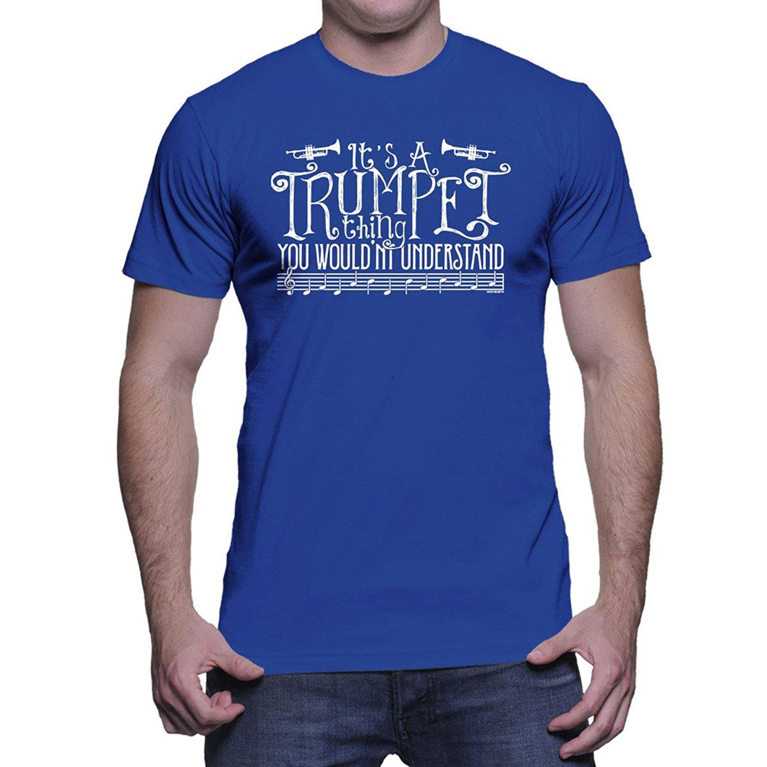 314a50c4 Adult Size funny tshirts HAASE UNLIMITED Mens It's A Trumpet Thing You  Wouldn't Understand