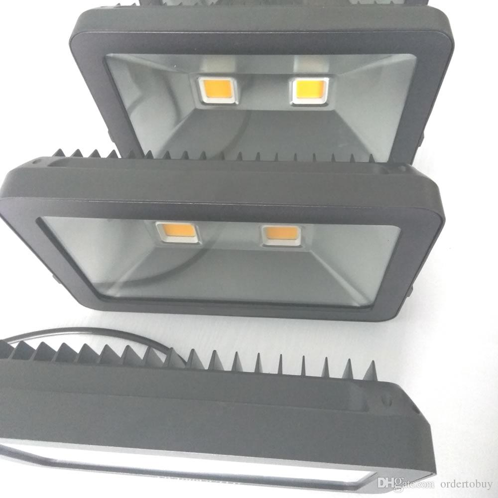 Haute qualité lumineux 50W 70W 100W LED projecteurs 12V 110V 120V 220V 9000LM bowfishing LEDs éclairage de bateaux 100Watt light DHL gratuit
