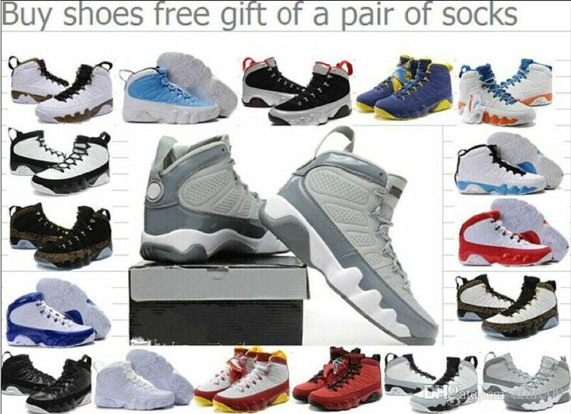 2ffdb180b9b274 Cheap 9 9s Men Basketball Shoes 2018 LA Bred OG Space Jam Tour Yellow PE  Anthracite The Spirit Johnny Kilroy Sports Trainers Sneakers Sneakers On  Sale East ...