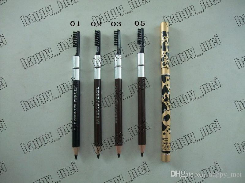 Factory Direct New Makeup Eyes Leopard New Professional Make-up Eyebrow Pencil & Brush!Black/Brown