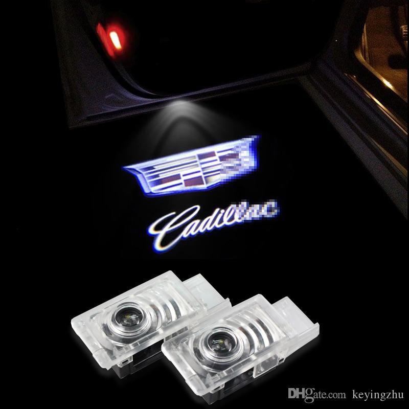 Grosshandel 2x Auto Tur Licht Geist Shadow Logo Fur Cadillac Srx Xt5