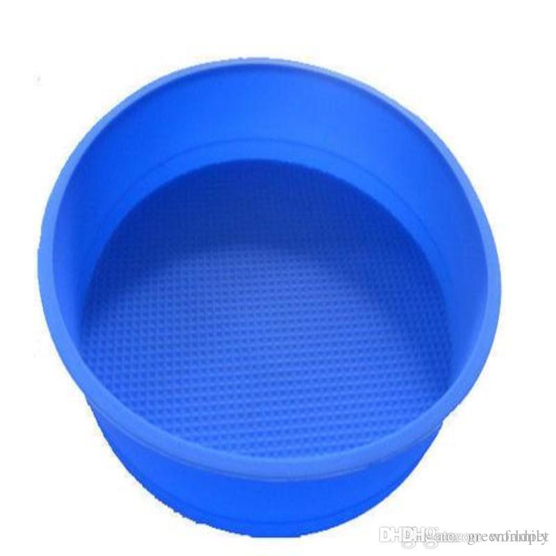 Non Stick Round Silicone Mold Cake Pan Baking Tools For Cakes Bakeware Maker Tray Square