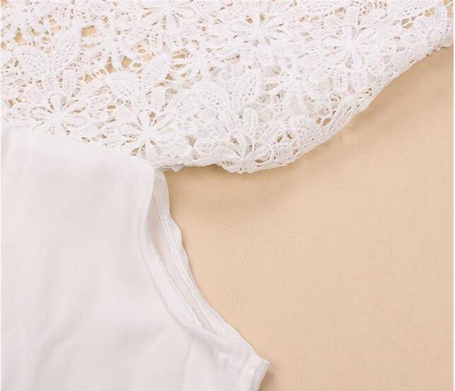 Off the tops de l'épaule pour les femmes Mode Casual Summer dentelle T-Shirt Tops T-shirts Camisetas Feminina T-shirts Slash Cou Vêtements Dentelle Plus la taille
