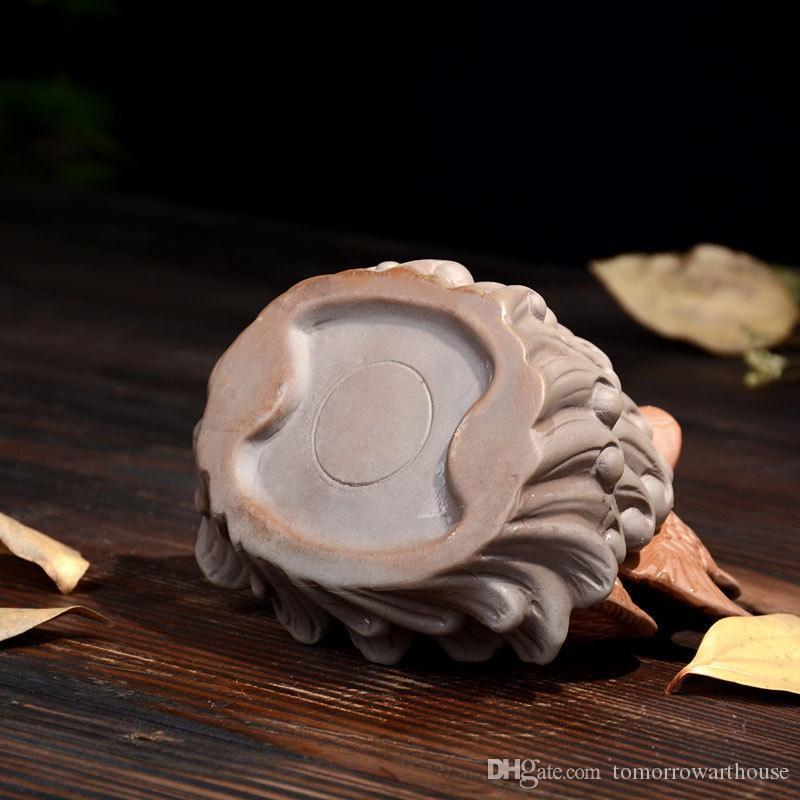 Arte de Cerámica Creativo Backflow Quemador de Incienso incensario Holder Home Office Aromaterapia Decoración Artesanía