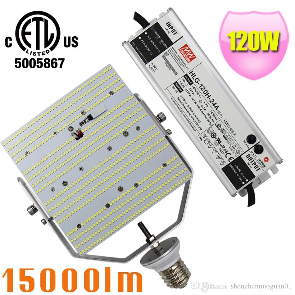 400w Metal Halide Replacement 120w Led Street Light Retrofit 2835smd Bulb Corn On Hps Wiring Diagram Parking Lighting 180 Degree 5 Years Warranty Kit Lot