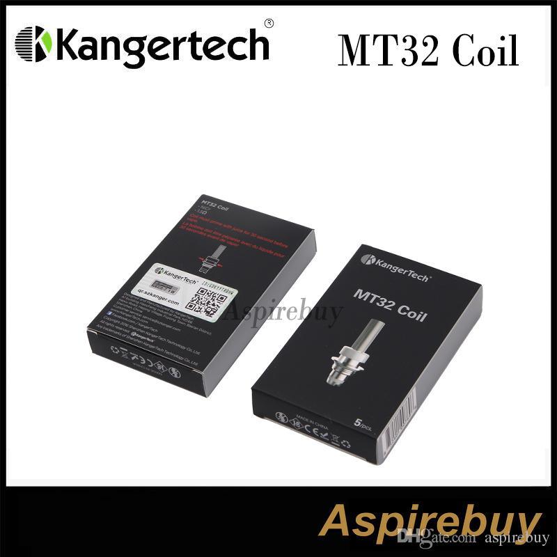 Kanger MT32-Spule Spuleneinheit für Evod / Protank 2 / Mini Protank 2 / Unitank-Heizspulen für alle Einzelspulen Clearomizers 100% Original