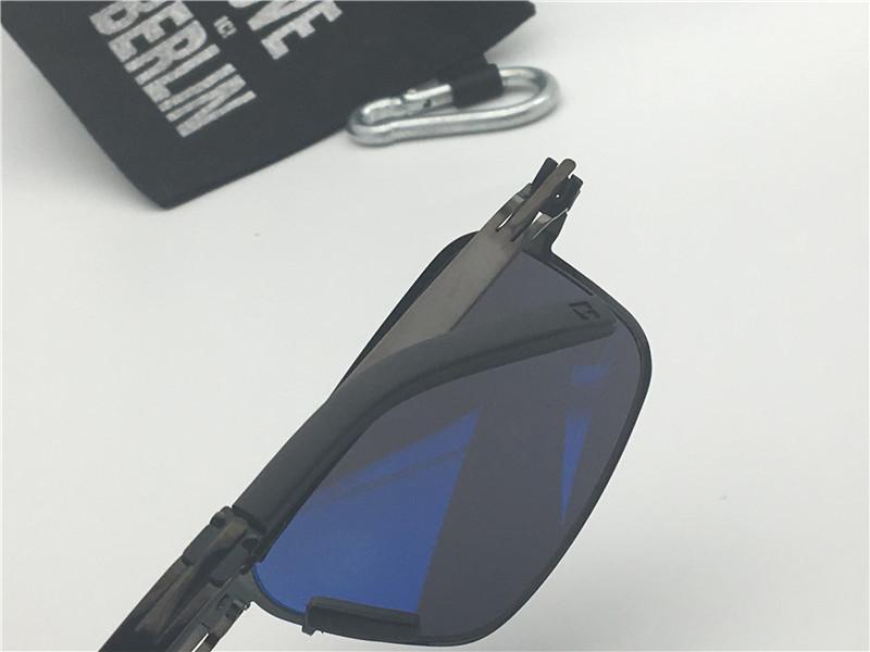 lunettes de soleil pour hommes allemagne lunettes de soleil pour femmes modèle IC paire annihilation lunettes de soleil en acier inoxydable