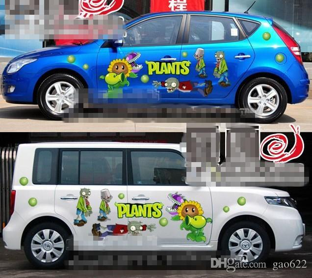 New Hot Anime Car Stickers Anime Stickers Zombies From Gao - Car anime stickers