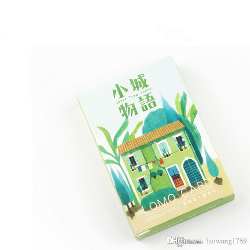 Box Kawaii Small Town Story Creative Cards Greeting Card Postcards Message Holiday Universal Free Printable Singing Birthday