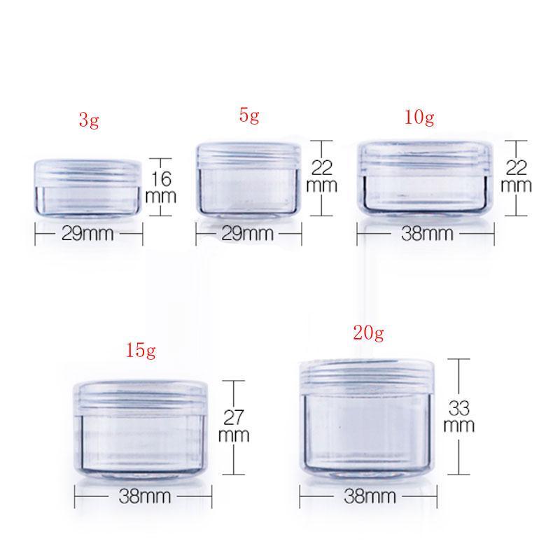 3g 5g 10g 15g 20g cream jar (2)
