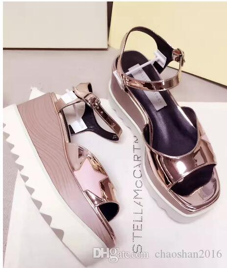 0b0afa0f6149 2017 New Wholesale Fashion Stella Mccartney Sandals Women Elyse ...
