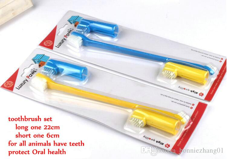 Wholesale Dog Toothbrush Soft Finger brush Puppy Clean Mouth Cat Clean Teeth Pet Teeth Care