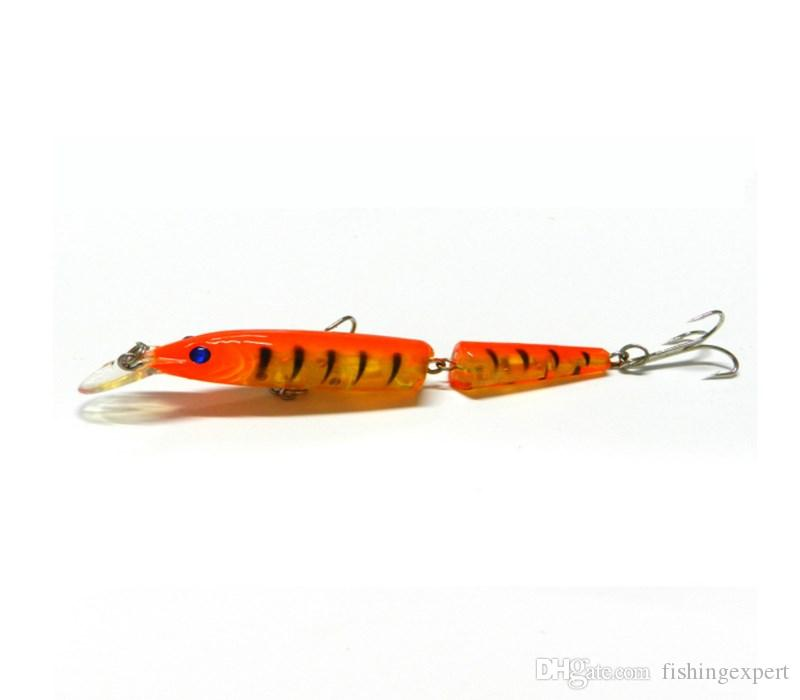 Top Sale Simulated Fishing Lures 10.5cm Multi-section Short Lip Minnow Baits 9.6g Lifelike Plastic Hard Baits