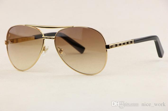 7b196bf4df192 Compre Brand Óculos De Sol Top Marca De Luxo V Homens Mulheres Óculos De Sol  Para Condutor De Condução Ao Ar Livre Dos Homens Z0339U Male Full Frame  Óculos ...