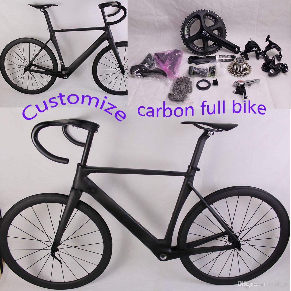Carbon Complete Road Bike with Original Ultegra Groupset Carbon Full ...
