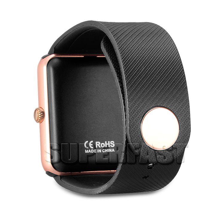 GT08 intelligent montre Bluetooth Smartwatches pour Android Smartphones NFC pour carte SIM Santé Watchs pour Android avec Retail Box