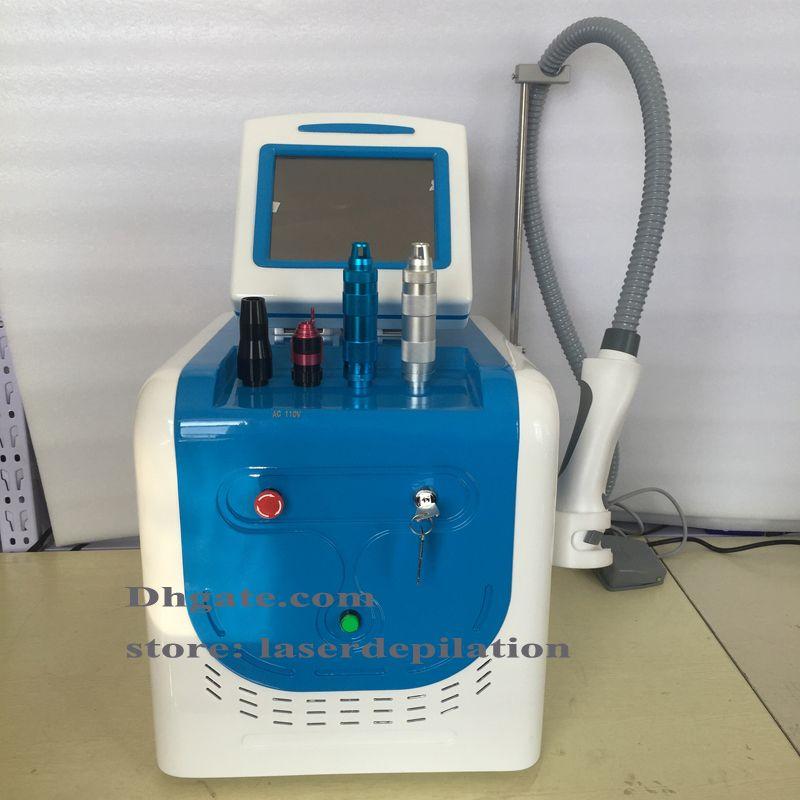Picosecond Laser Spot النمش آلة إزالة الوشم Picosure مع العسل مجموعة عدسة تركز