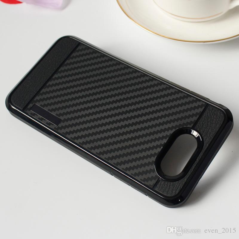 Для iPhone X 8 z981 iPhone6 2in1 чехол из углеродного волокна двойной мягкий чехол ТПУ противоударная задняя крышка для LG V20 Z982 k10 k7