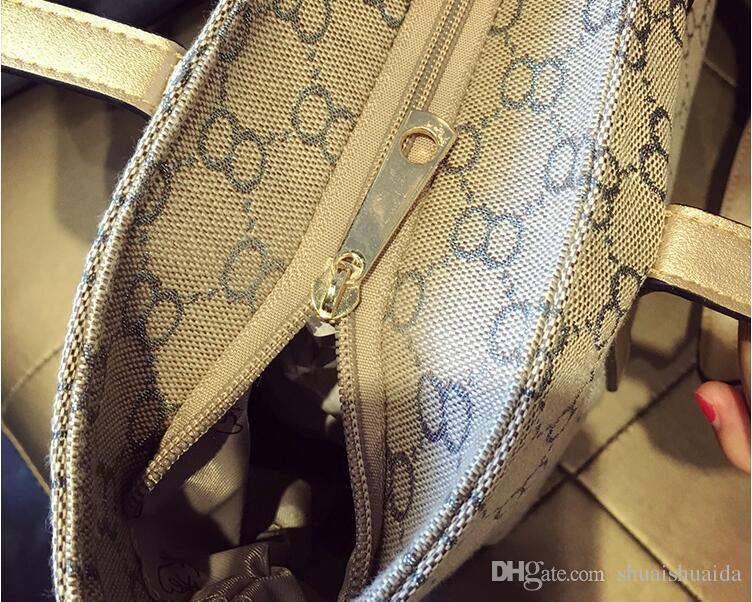 2017. Canvas. Big. Tote bag. Handbag. Women's Bags. Soft. Leisure fashion bag. High-capacity.Shoulder Bags.Totes.