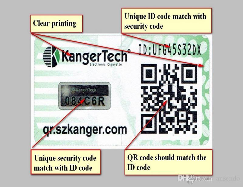 100% d'origine Kanger Subox Mini C Kit De Démarrage 50W Mod Protank 5 Atomiseur 0.5ohm SSOCC Kangertech Cigarettes Électronique Vaporisateur