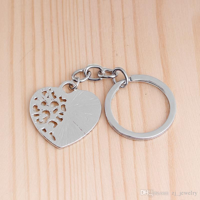 Mutter-Tochter-Herz-Schlüsselkette Die Liebe zwischen einer Mutter und einer Tochter ist für immer personalisierte Mutter Keychain Geschenk für sie