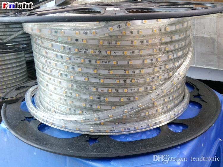 rgb led 3528 strip light,party hotel Restaurant decoration 220v led waterproof strip light,smd3528 ip67 flexible strip light,100M/REEL