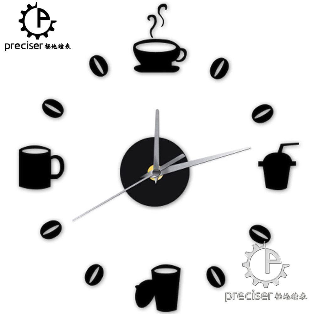 DIY Decorating: Retro Kitchen Wall Clock
