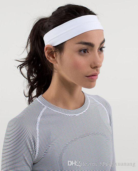 Frauen Headwear Yoga Sport Active Wear Mode Solid Gym Lauf Fitness Hairwear Dame Mädchen Elastische Komfort Im Freien Übung Haarbänder