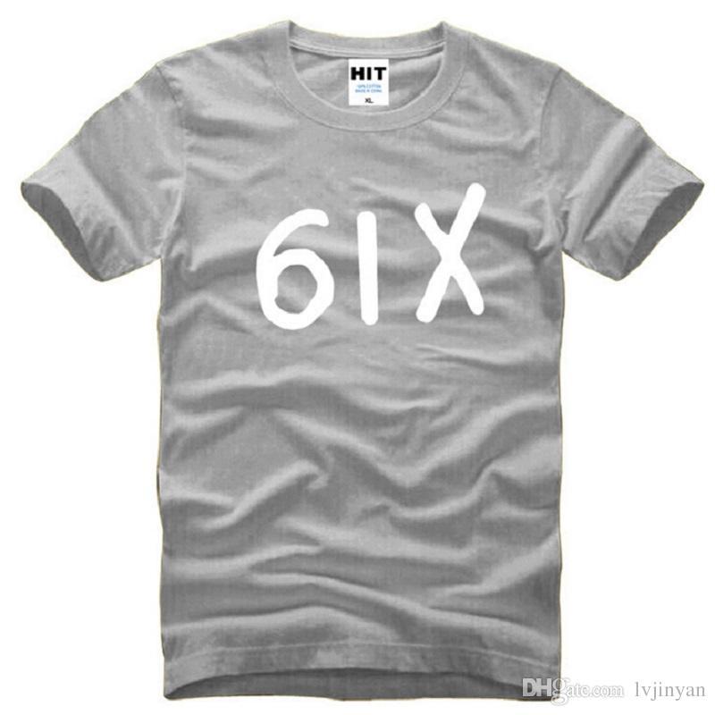 New Designer Six Drake T-Shirt da uomo in cotone manica corta Drake Hiphop 6IX T-shirt da uomo Fashion Rap Hip Hop t-shirt uomo Swag