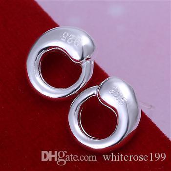Оптовая низкая цена Рождественский подарок стерлингового серебра 925 серьги yE056