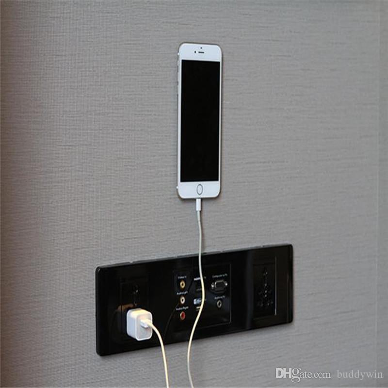 Новый FLOURISH LAMA Мощный Сильный Стик Клей Anywhere Стикер Стены Моющийся Автомобиль Кронштейн Мобильного Телефона Универсальный Крепление Телефона С Пакетом