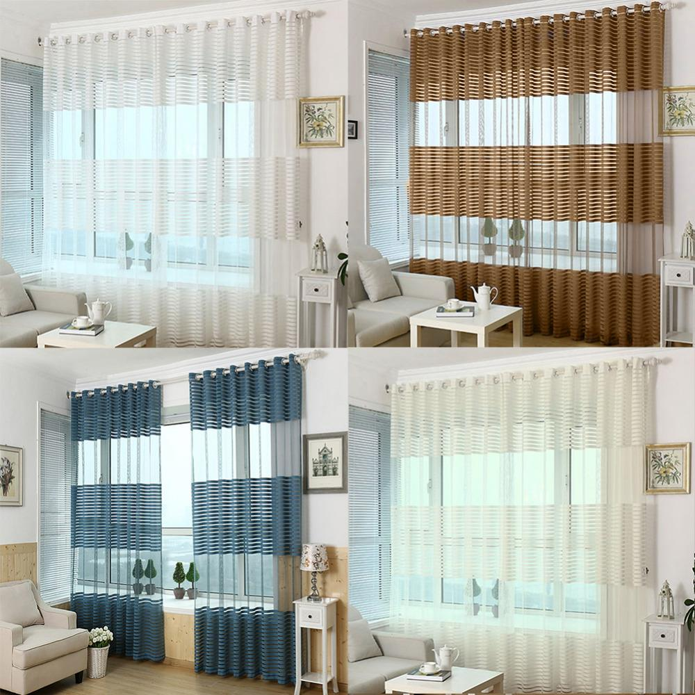 Wholesale Jacquard Curtain Punching Screens Wild Striped Finished Bedroom  Balcony Living Room Hollow Ventilation Decorated Screens Screen Decor Screen  ...