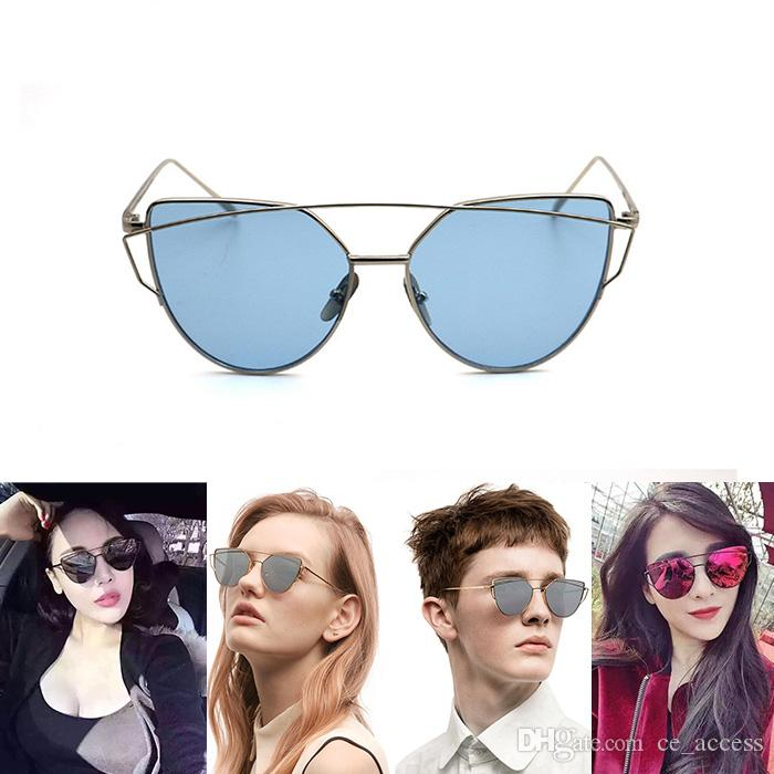 58d1b7cb69f1 New Gentle Monsters Classic Trend Sunglasses Ladies Brand Metal Personality  Designer Sun Cat Style Frame Style Love Punch Designer Glasses Sunglasses  Uk ...