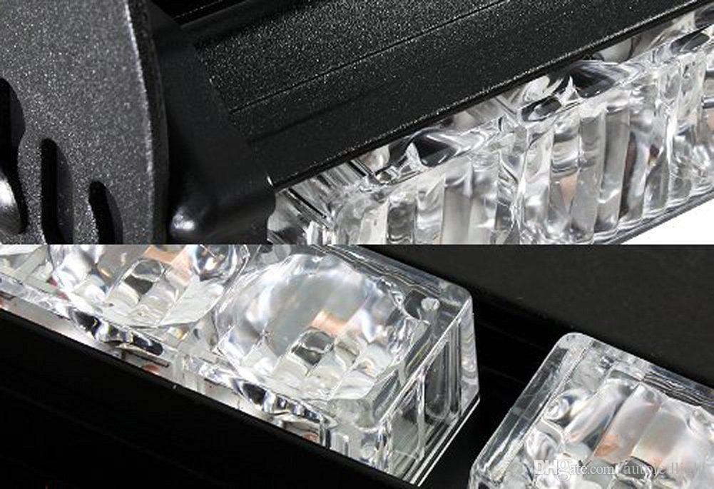 İtfaiyeci yanıp sönen led stobe ACİL 16 LED BULB DASH / DECK STROBE IŞIK süper parlak otomatik led ışık yanıp sönen strobe