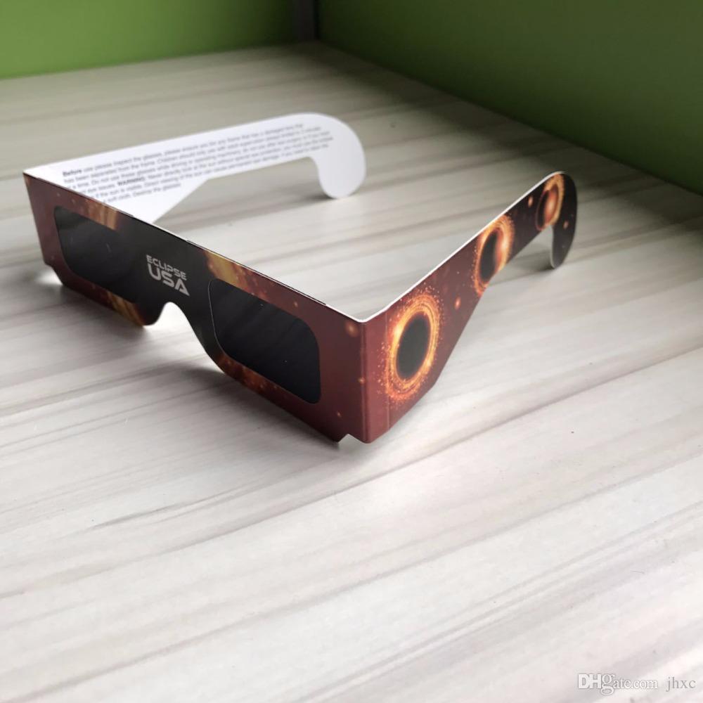 Großhandel 2017 Usa Sonnenfinsternis Gläser Papierrahmen Ce Und Iso ...