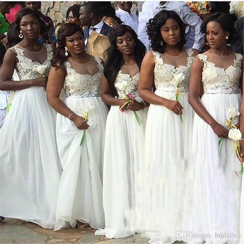 2017 South African Bridesmaid Dresses For Summer Weddings