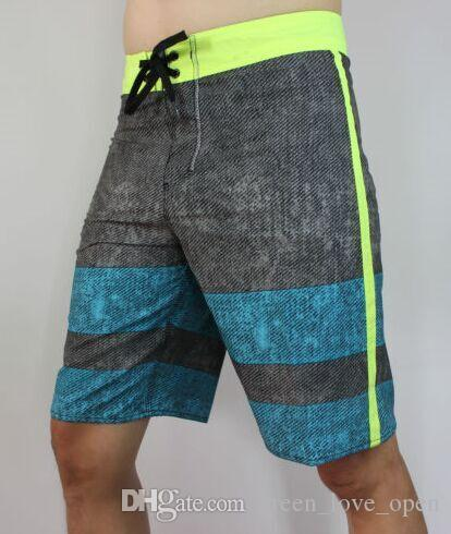 303127496e2 Swimwear Men s Quick Dry 4 WAY STRETCH Boardshorts Board Shorts ...