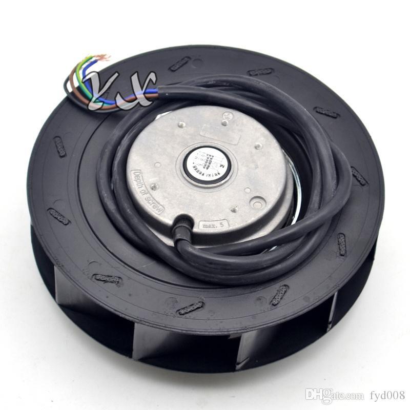 NUEVO ventilador centrífugo de 180 discos YWF.B2S-180 220V 0.26A ventilador 54W ventilador impulsor de plástico ventilador centrífugo 180 * 65mm